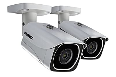 Lorex 8MP 4K LNB8111B Bullet Camera 2-Pack from Lorex