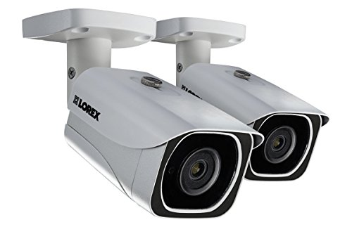 Lorex 8MP 4K LNB8111B Bullet Camera 2-Pack ()