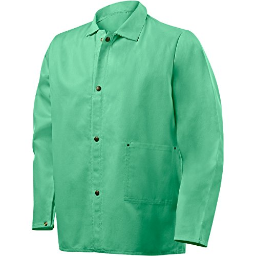 Steiner 1030-M 30-Inch Jacket, Weldlite Green 9-Ounce Flame Retardant Cotton, Medium by Steiner