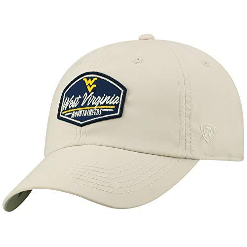 (Top of the World West Virginia Mountaineers Official NCAA Adjustable Onward Hat Cap 455853)