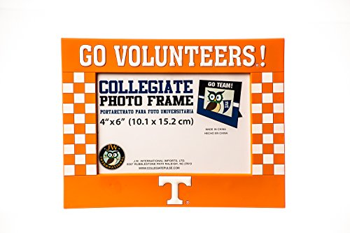Ncaa Picture Frame (Collegiate Pulse TENNESSEE VOLUNTEERS NCAA PVC PHOTO FRAME)