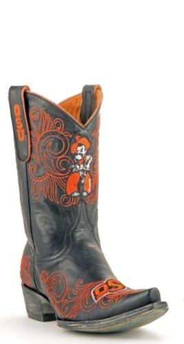Stivali Da Gioco Da 10 Pollici Ncaa Oklahoma State Cowboys Neri