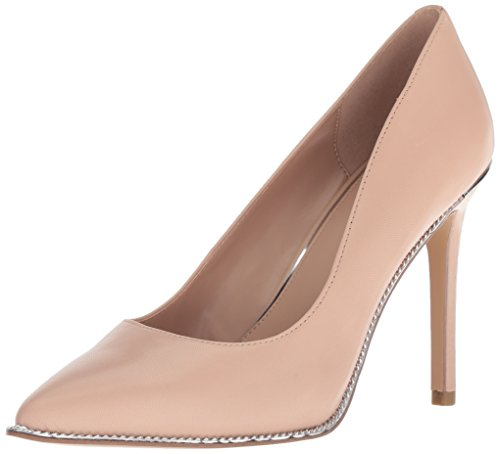 BCBGeneration Women's Harleigh Chain Pump, Shell, 8 M - Womens Shoes Bcbg