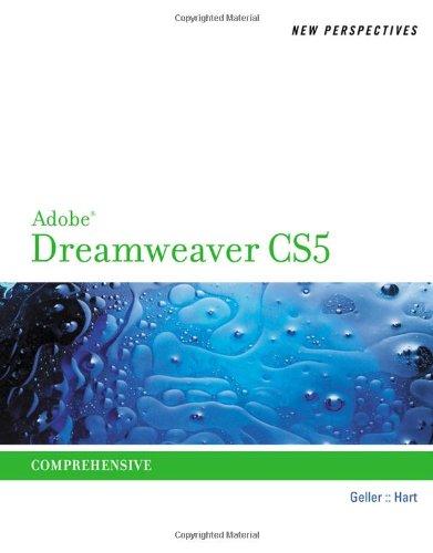 New Perspectives on Adobe Dreamweaver CS5, Comprehensive...