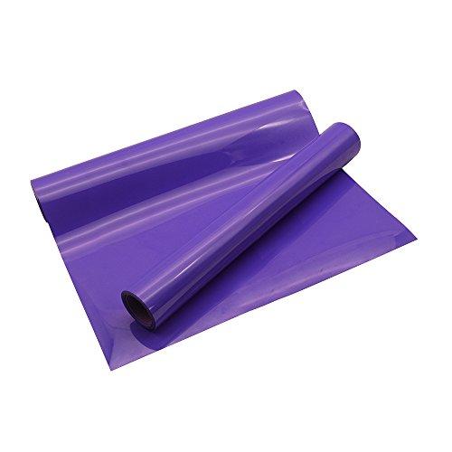 VINYL FROG PU Iron on Heat Transfer Vinyl Roll 10x5 Purple Color HTV