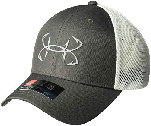 Under Armour Outerwear Men's Under Armour Men's Fish Hook 2.0 Cap, Charcoal (019)/Steel, Large/X-Large ()
