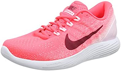 Nike Women's WMNS Lunarglide 9 Competition Running Shoes, Orange (Hot Punch/Arctic Pink/White/Noble Red), 3.5 UK 36.5 EU
