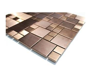 Edelstahl Mosaik Glasmosaik Fliesen Wand Boden EdelstahlMosaik - Mosaik fliesen fußboden