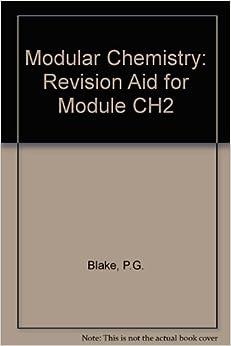 Descargar Libro It Modular Chemistry: Revision Aid For Module Ch2 Novedades PDF Gratis