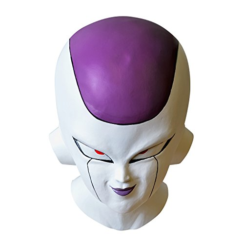 [Dragon Ball Z Freezer High quality Mask Accessories for costume 95 739] (Tights Costumes Accessory)