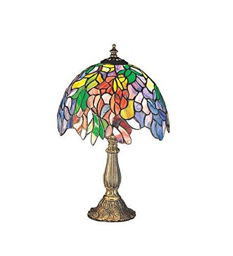 """Lumtopia Meyda Tiffany 26587 Laburnum Accent Lamp, 15.5"""" ..."""