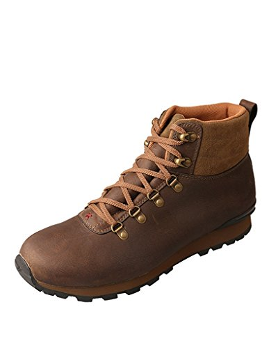 Twisted X Western Shoes Mens Athleisure Buckle WP 9.5 M Taupe MWAW001
