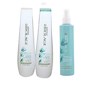 Matrix Biolage Volumebloom Shampoo & Conditioner & VolumeBloom Volumizing Spray 1 kit