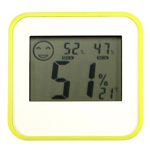 Digital LCD Thermometer Hydrometer Indoor Centigrade/Fahrenheit by Karen Low