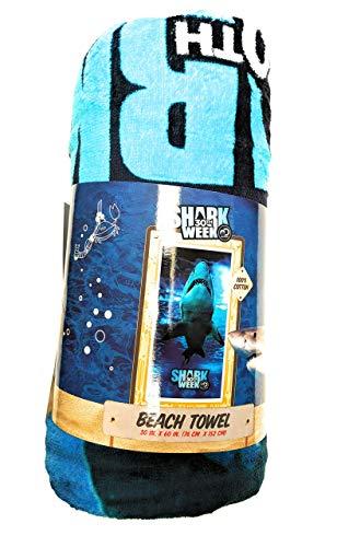 Shark Lone (Shark Week Lone Shark Beach Towel)
