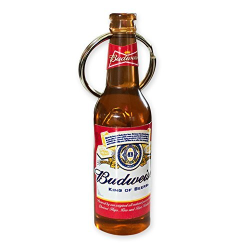Budweiser Bottle Beer Opener Keychain - Budweiser Bottle