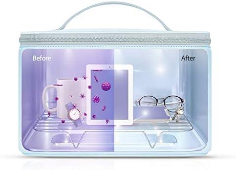 UV Sterilisator, 59S UV Sterilisator LED-Beutel mit 24 Lampenperlen Schnelle Sterilisation 99,9%, Geeignet für Unterwäsche, Tablets, Handys, Mäuse, Gläser, usw