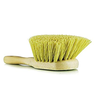 Chemical Guys ACC_G02    Yellow Chemical Resistant Stiffy Brush,  , 1 Pack: Automotive