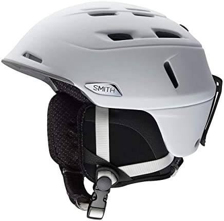 Smith Optics Camber – MIPS Adult Ski Snowmobile Helmet – Matte White Large