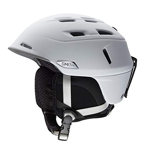 Smith Optics Camber - MIPS Adult Ski Snowmobile Helmet - Matte White/Large