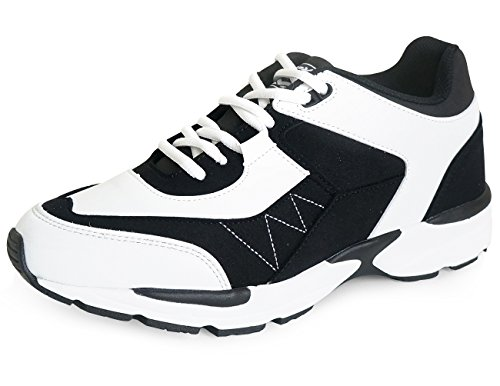 MNX15 Women's Elevator Shoes Height High Increase 2.4