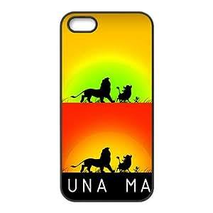 DAZHAHUI Hakuna Matata Cell Phone Case for Iphone 5s