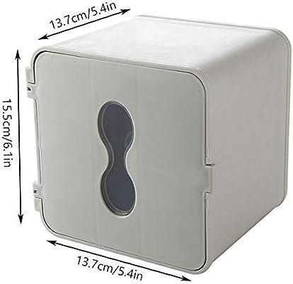 ZTKBG Caja de pañuelos de baño montado en la Pared Soporte de ...