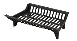 """Uniflame 18"""" Stacking Fireplace Iron Grate"""