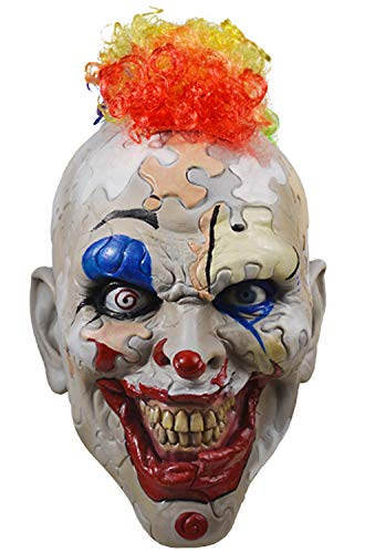 Puzzle Face Clown American Horror Story Cult Halloween Adult Mask -