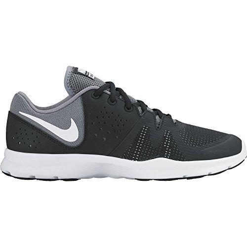 Nike Womens Core Motion Tr 3 Mesh Cross Trainer Nero / Bianco Freddo Grigio