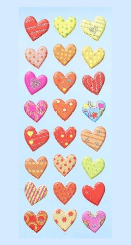 CREApop-3451165--Pegatinas-blandas-de-corazones-multicolor