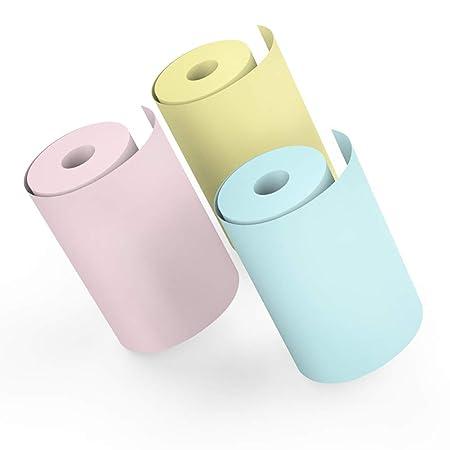 EisEyen - Juego de 4 Rollos de Papel térmico para Impresora ...
