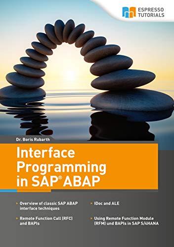 Amazon com: Interface Programming in SAP ABAP eBook: Boris Rubarth