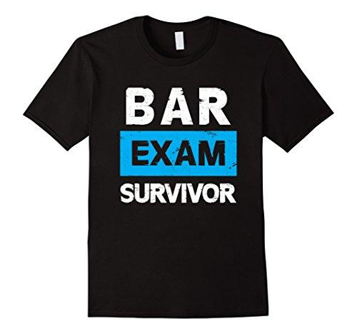 Bar Exam Survivor T-Shirt Law School Graduate