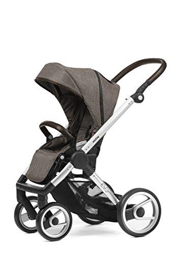 Mutsy Evo Farmer Edition Stroller, Silver Chassis/Earth