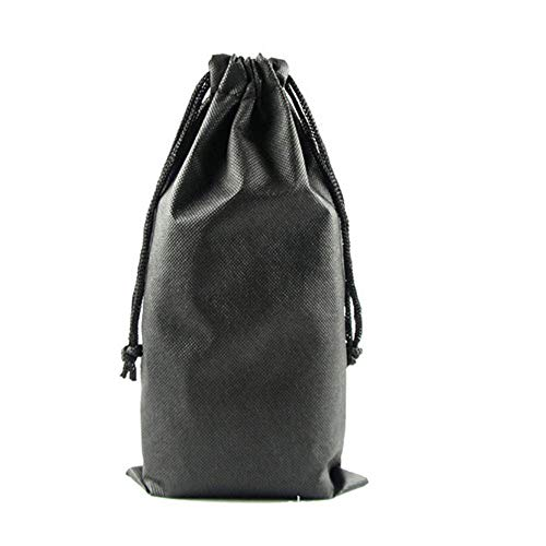 1pc Black 31x16cm Drawstring Storage Bag for Sex Product Pouch Bag Organizer