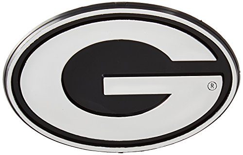 NCAA Georgia Bulldogs Chrome Automobile Emblem from Team ProMark