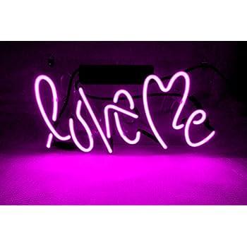 Cool Love Me LED Neon sign Lamp Night Light Display Gift ...