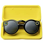 Snapchat Spectacles Sunglasses - black, teal and coral