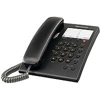 Panasonic KX-TS550B Integrated Corded Phone, Black