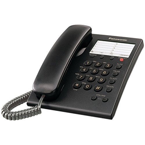 Panasonic KX TS550B Integrated Corded Phone