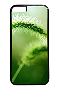 iphone 6 4.7inch Cases & Covers Green Spring Flower Custom PC Hard Case Cover for iphone 6 4.7inch black