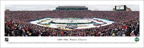 2019 NHL Winter Classic (Bruins vs Blackhawks) - Unframed 40 x 13.5 Poster by Blakeway Panoramas