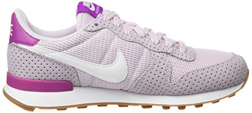 White Bleached Lilac Wmns Donna Scarpe Internationalist Brown Corsa Bianco Nike Mid da Gum Summit Rnf14Cq