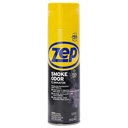Zep Smoke Odor Eliminator, 16 ounces ZUSOE16 (Best Spray For Smoke Smell)