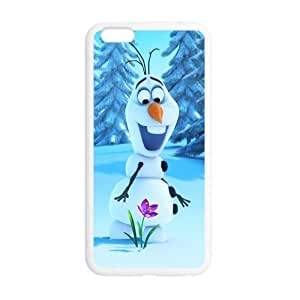 Customize TPU Gel Skin Case Cover for iphone 6+, iphone 6 plus Cover (5.5 inch), Frozen