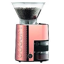 【正規品】BODUM BISTRO 電動コーヒーミル 10903-73JP-1、カッパー色 10903-73JP-1