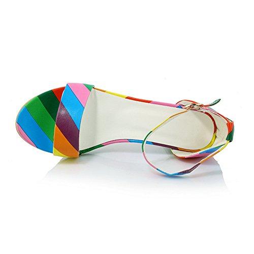 38 Per Adee Donne Sandali Patchwork Le Multicolore 4YqBApY
