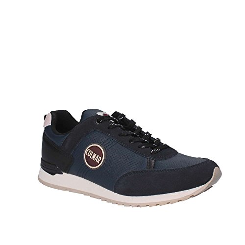 023 COLMAR Drill Travis Black Turnschuhe TRAVISD023BLACK Navy AxTBwUq0
