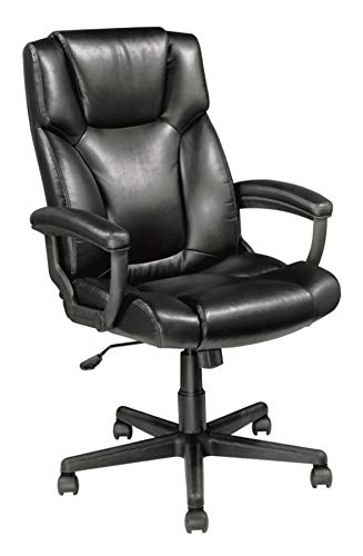 - Realspace Breckland High-Back Chair, Black